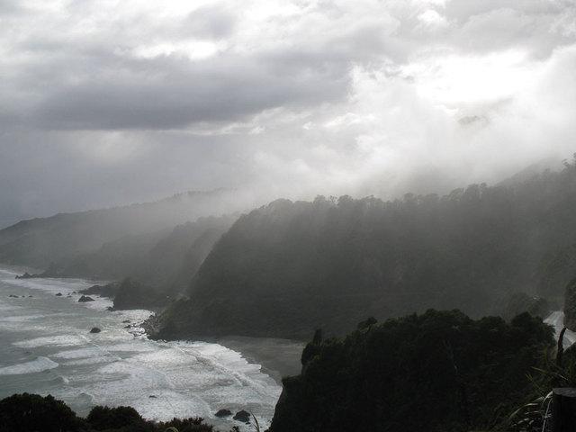 Côte ouest de l'ile du sud - NZ - fourclavier.com