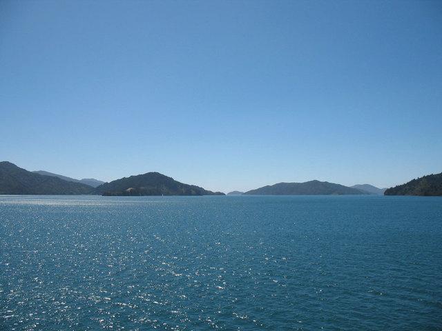 Arrivée à Picton - NZ - fourclavier.com