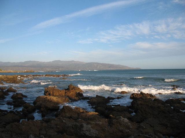 La côte, du côté de Wellington