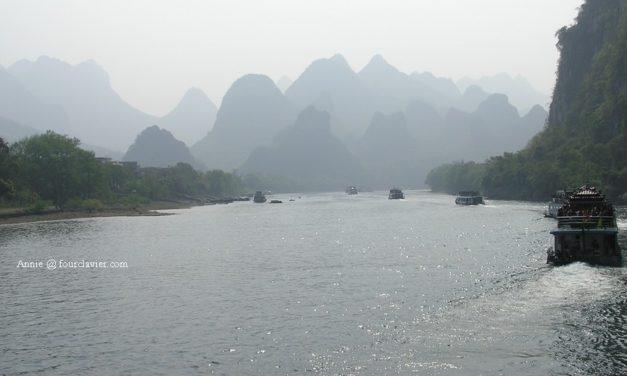 La rivière Li, haut lieu touristique en Chine