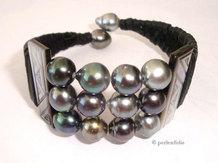 Huîtres perlières et perles de Tahiti