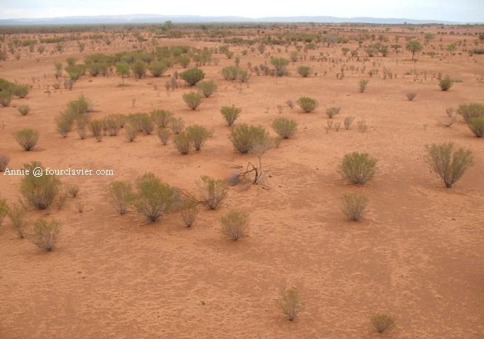 outback vue de haut