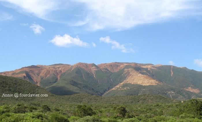 Paysage de la chaine, Nouvelle Calédonie