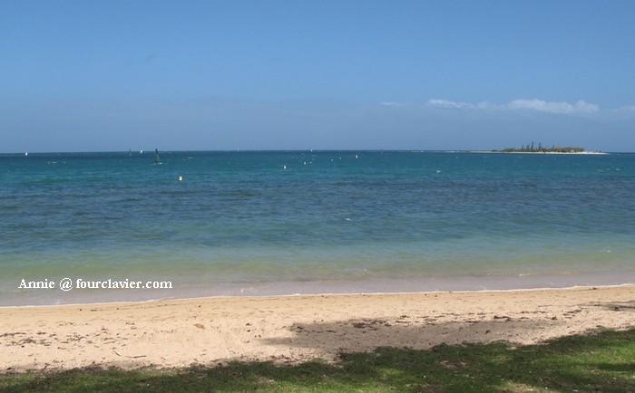 plage de Nouméa - tour calédonien