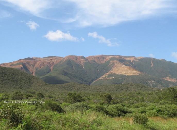les montagnes de Nouvelle Calédonie