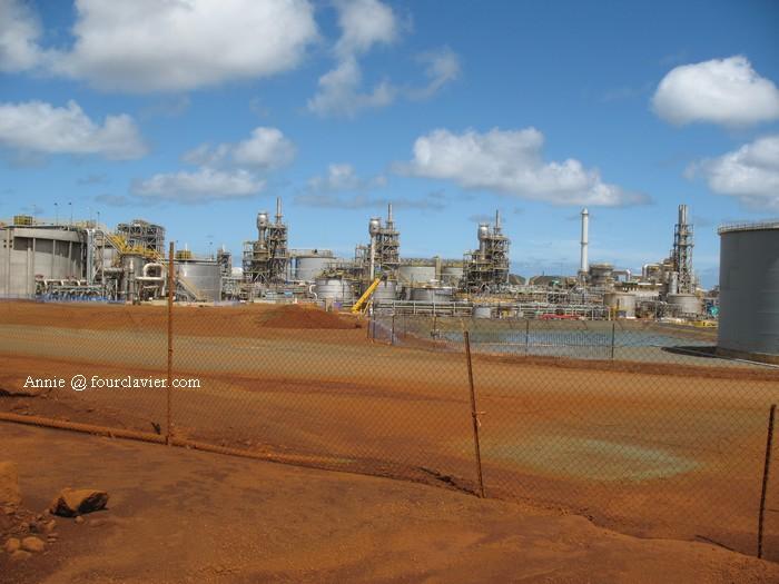 usine de nickel