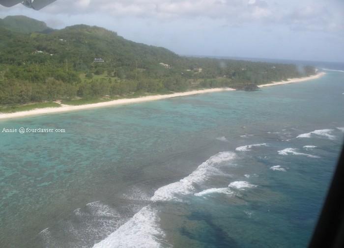 l'île de Rarotonga