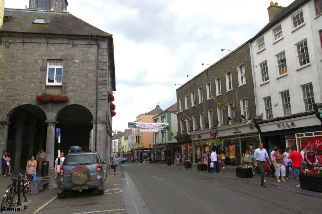 La rue principale de Kilkenny - Irlande