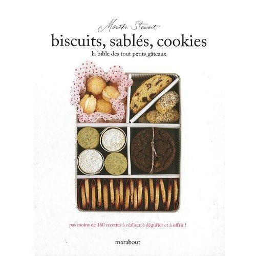 cookies,sablés,Martha Stewart