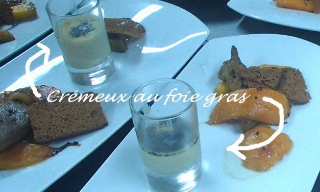 Crémeux au foie gras, pour un apéritif de fête