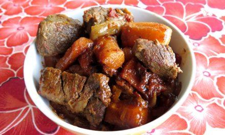 Boeuf carottes, plat réconfort