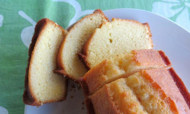 Cake au citron, merci Mercotte, recette Pierre Hermé