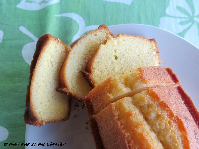 Cake au citron recette Pierre Hermé