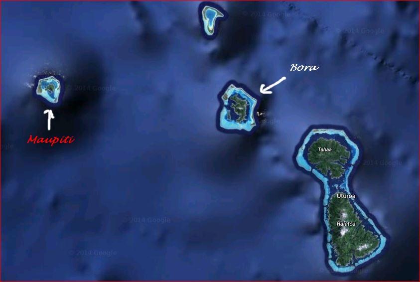 Maupiti et les îles de la Société