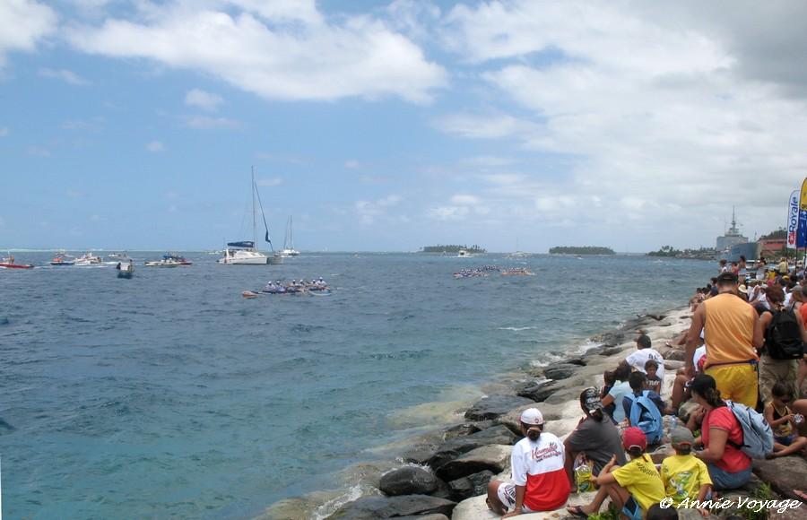 Arrivée à Uturoa - Hawaiki Nui