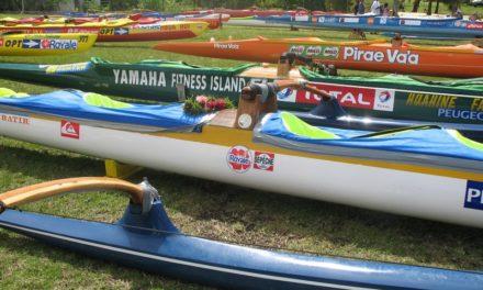 La course de l'Hawaiki Nui 2014