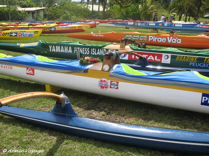 Va'a au repos - Hawaiki Nui