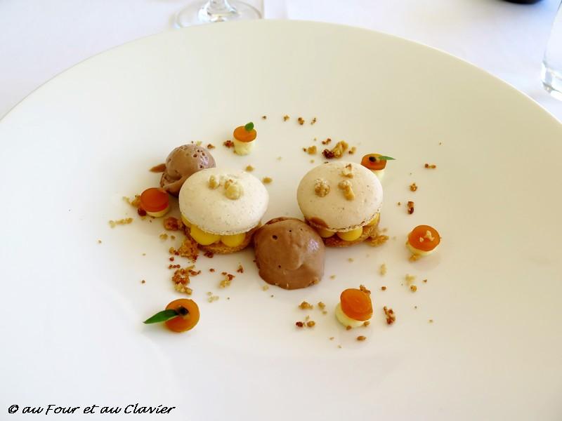 Macaron Noisette, restaurant le Coco's