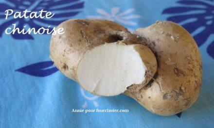 Vous connaissez la patate chinoise ?