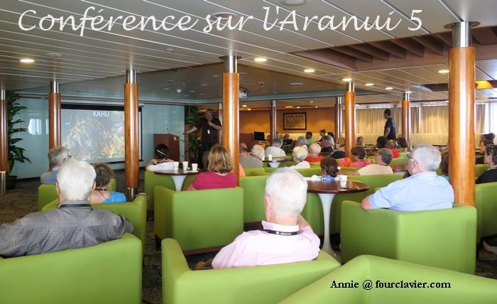 Conférence sur l'Aranui 5