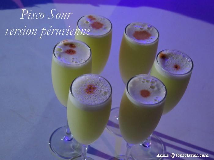 Pisco Sour du Pérou