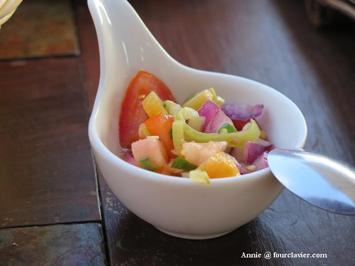 sauce apéritif Chili