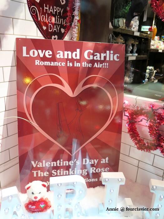 Valentine's Day à l'ail