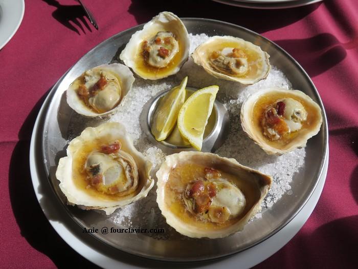 huîtres de Bluff - Bluff oysters