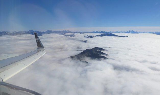 Au pays des Hobbits, les montagnes sont des îles.