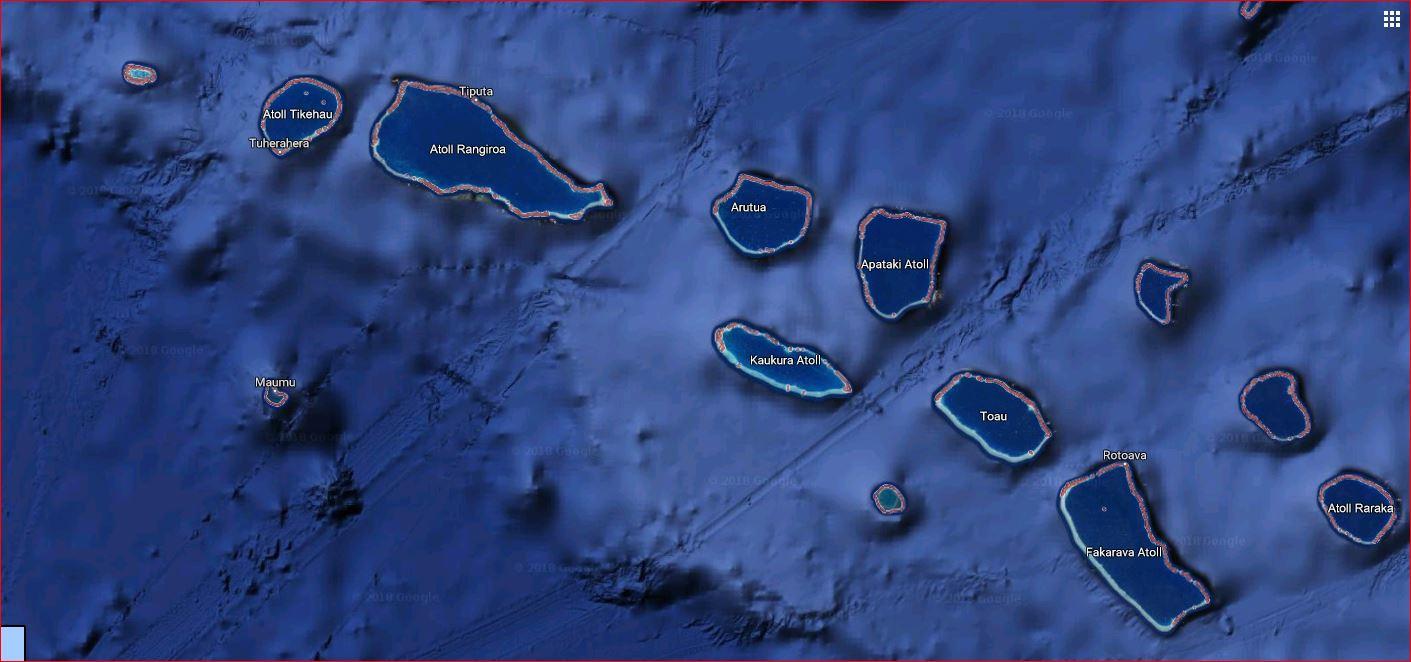 Les Tuamotu Ouest