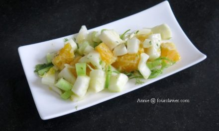 Salade fenouil orange