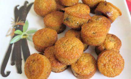 Mini muffins aux cranberries et vanille de Tahiti