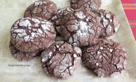 Biscuits au chocolat et à l'huile d'olive
