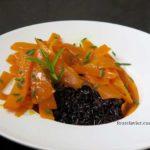 riz venere aux carottes