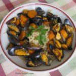 moules au gingembre et carottes