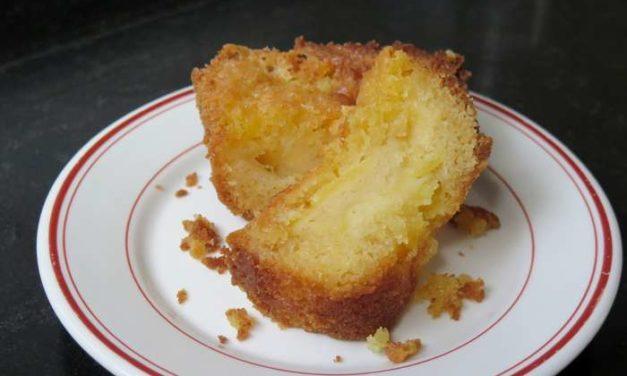 Gâteau gourmand aux pommes