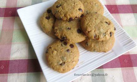 Cookies au beurre de cacahuètes, sans farine